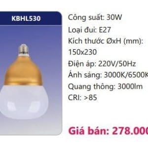 Den Led Bulb Kbhl530 30w