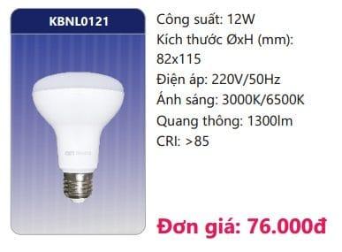 Den Led Bulb Kbnl0121 12w