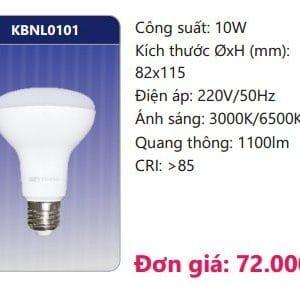 Den Led Bulb Kbnl1010 10w