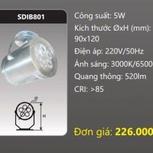 Den Led Chieu Diem Gan Transdib801