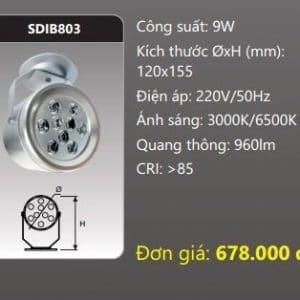 Den Led Chieu Diem Gan Transdib803