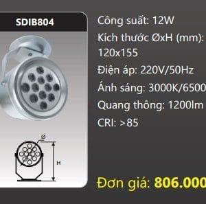 Den Led Chieu Diem Gan Transdib804