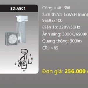 Den Led Chieu Diem Thanh Ray Sdia801