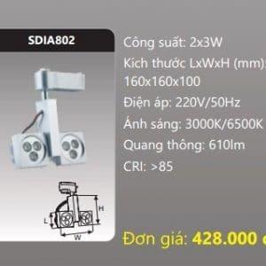Den Led Chieu Diem Thanh Ray Sdia802