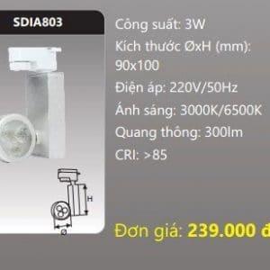 Den Led Chieu Diem Thanh Ray Sdia803