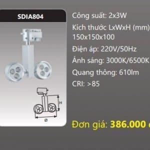 Den Led Chieu Diem Thanh Ray Sdia804