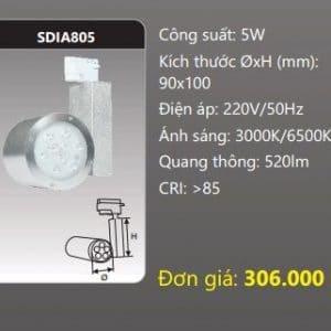 Den Led Chieu Diem Thanh Ray Sdia805