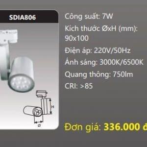 Den Led Chieu Diem Thanh Ray Sdia806