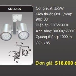 Den Led Chieu Diem Thanh Ray Sdia807