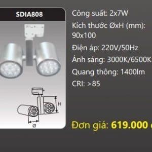 Den Led Chieu Diem Thanh Ray Sdia808