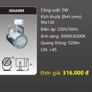 Den Led Chieu Diem Thanh Ray Sdia809