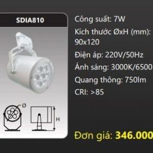Den Led Chieu Diem Thanh Ray Sdia810