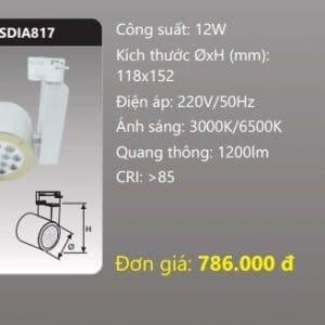 Den Led Chieu Diem Thanh Ray Sdia817