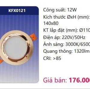 Den Led Downlight Am Tran Trang Trikfx0121