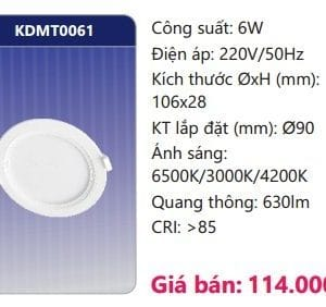 Den Led Panel Doi Maukdmt0061