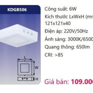 Den Led Panel Gan Noikdgb506
