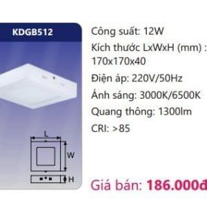 Den Led Panel Gan Noikdgb512