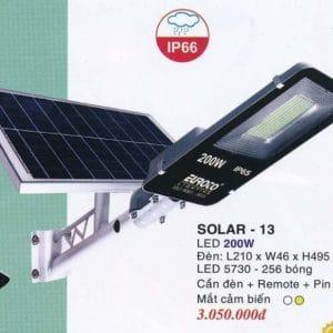 Den Pha Nang Luong Solar 13