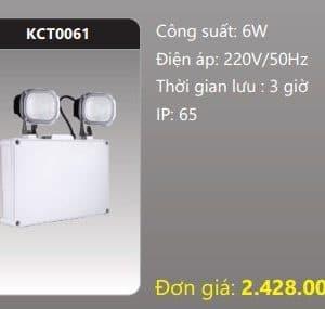 Den Thoat Hiem Den Khan Cap Kct0061