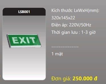 Den Thoat Hiem Den Khan Cap Lsb001