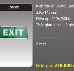 Den Thoat Hiem Den Khan Cap Lsb002