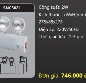 Den Thoat Hiem Den Khan Cap Snc302l