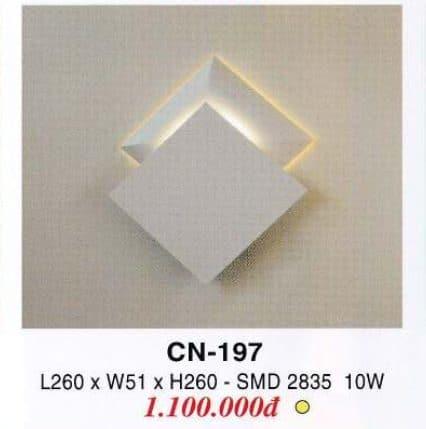Den Tuong Trang Tri Cn 197
