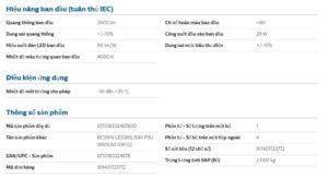 Dieu Kien Lam Viec Den Led Panel 600x600 Philips Rc091v Led36s 40w 865 840 3600lm