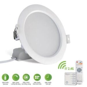 Led Downlight Remote 7w