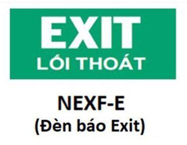 Led Exit Den Thoat Hiem Nanoco Led Nexf E