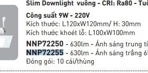 Slim Downlight Vuong