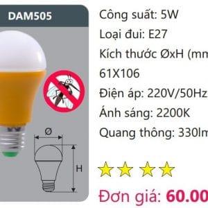 Bong Led Duoi Muoidam505