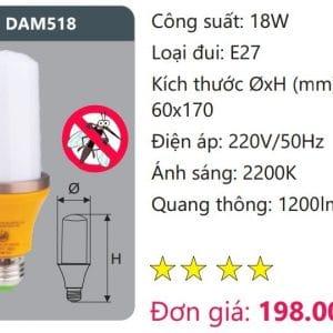 Bong Led Duoi Muoidam518