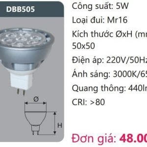 Bong Led Duoi Muoidbb505