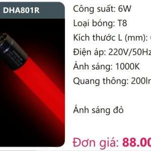 Bong Led Tuyp Mau T8dha801r
