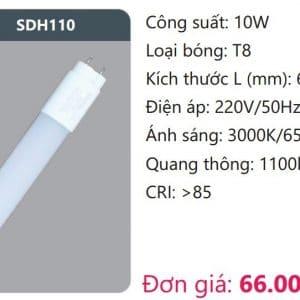 Bong Led Tuyp T8sdh110