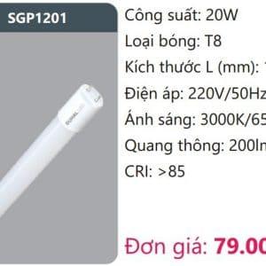 Bong Led Tuyp Thuy Tinhsgp1201