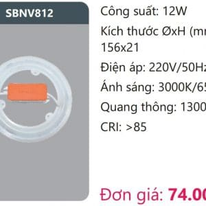 Bong Led Vongsbnv812