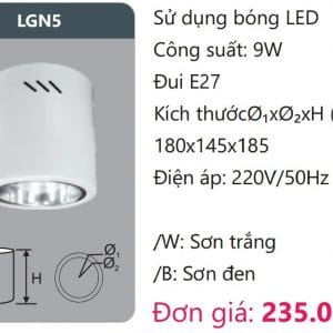 Den Downlight Gan Noi Den Downlight Am Tran Vien Son Cao Caplgn5