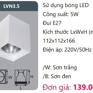 Den Downlight Gan Noi Den Downlight Am Tran Vien Son Cao Caplvn3 5