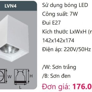 Den Downlight Gan Noi Den Downlight Am Tran Vien Son Cao Caplvn4