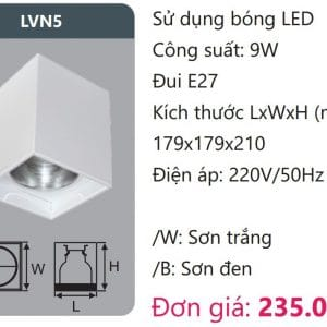 Den Downlight Gan Noi Den Downlight Am Tran Vien Son Cao Caplvn5