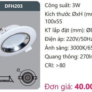 Den Led Downlight Tan Quangdfh203