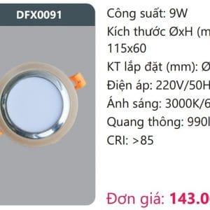 Den Led Downlight Tan Quangdfx0091