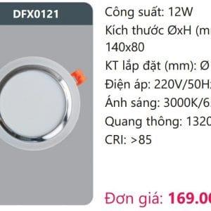 Den Led Downlight Tan Quangdfx0121