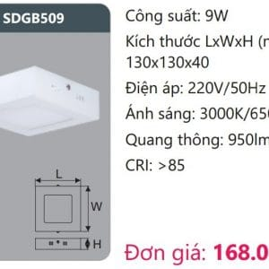Den Led Panel Gan Noisdgb509