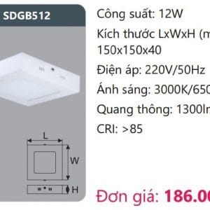 Den Led Panel Gan Noisdgb512