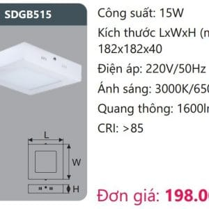 Den Led Panel Gan Noisdgb515