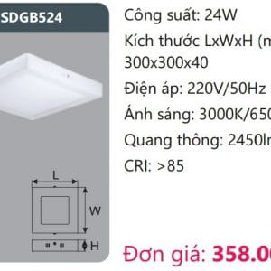 Den Led Panel Gan Noisdgb524