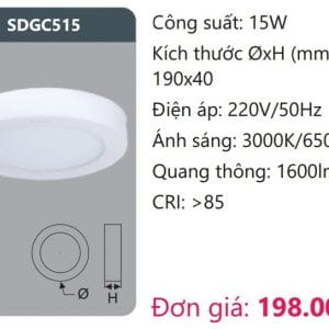 Den Led Panel Gan Noisdgc515
